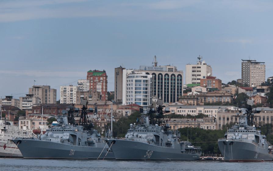 Боевые корабли ТОФ