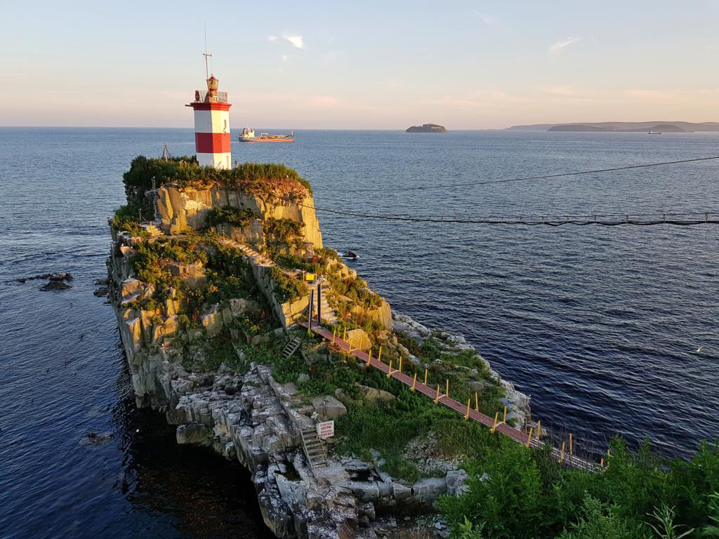 Маяк Басаргина во Владивостоке