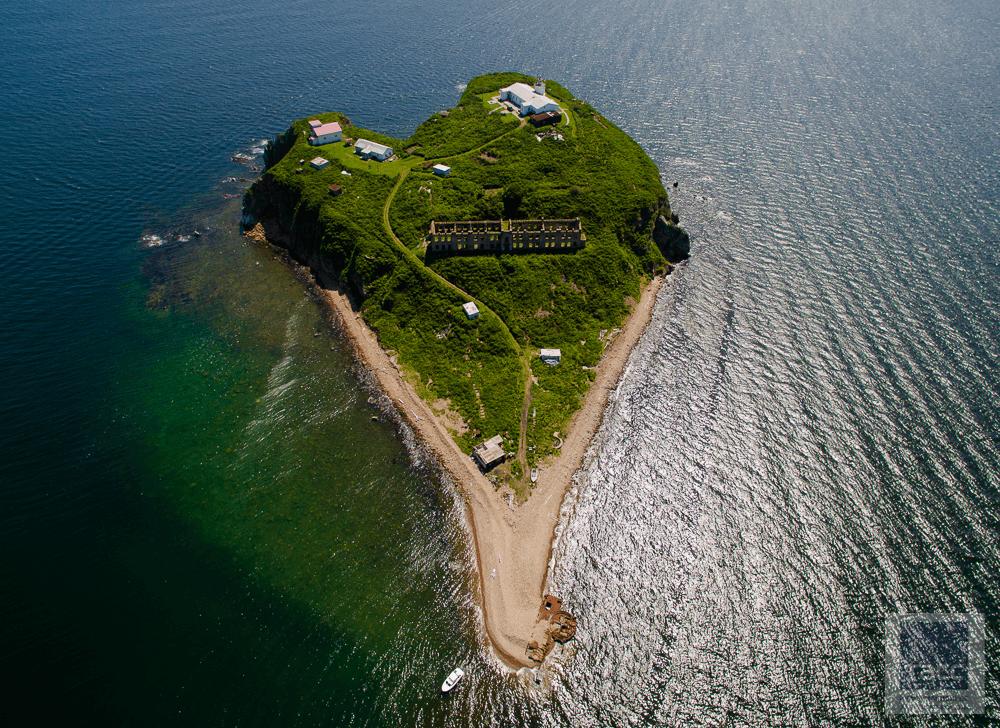 Остров Скрыплев во Владивостоке